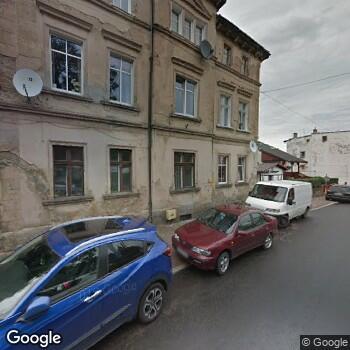 Widok z ulicy Gabinet Stomatologiczny Elżbieta Binkiewicz-Cebula