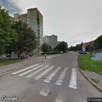 """Widok z ulicy Przychodnia Lekarska """"Eskulap"""""""