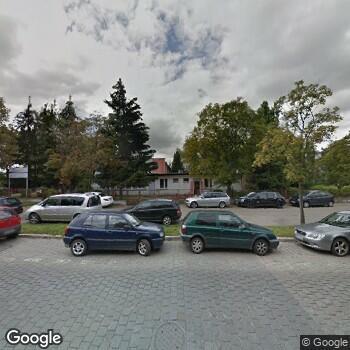 Widok z ulicy Wrocławskie Centrum Zdrowia SPZOZ