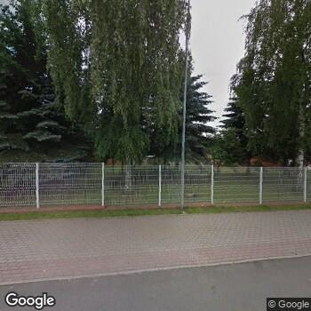 Widok z ulicy Megamed - Oddział w Bogatyni