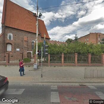 Widok z ulicy Zakład Opiekuńczo -Leczniczy dla Dorosłych Prowadzony przez Zgromadzenie Sióstr Albertynek
