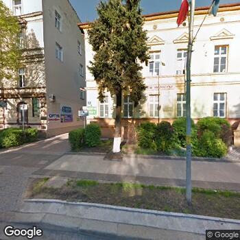 Widok z ulicy Centrum Medyczne w Legnicy