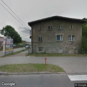 Widok z ulicy Anna Florkiewicz ISPL - Poradnia Chorób Układu Oddechowego
