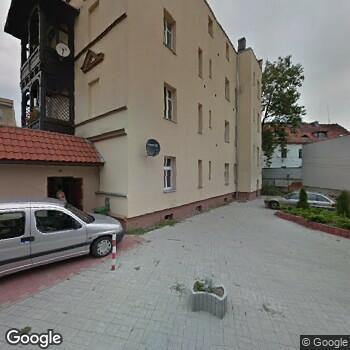 Widok z ulicy Gabinet Okulistyczny i Punkt Optyczny Marzena Stępińska