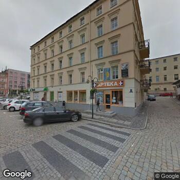 Widok z ulicy Małgorzata Orłowska Prywatny Gabinet Stomatologiczny