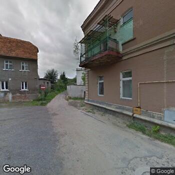 Widok z ulicy Gminny Ośrodek Zdrowia w Olszynie