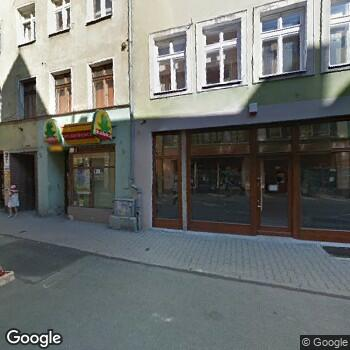 Widok z ulicy ISPL Barbara Rażniewska