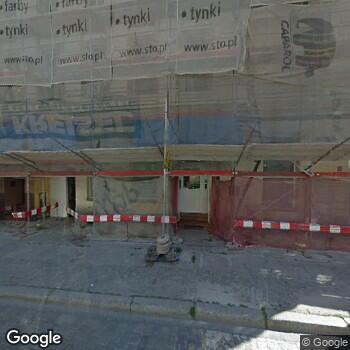 Widok z ulicy Lekarz Stomatolog Woytoń - Górawska