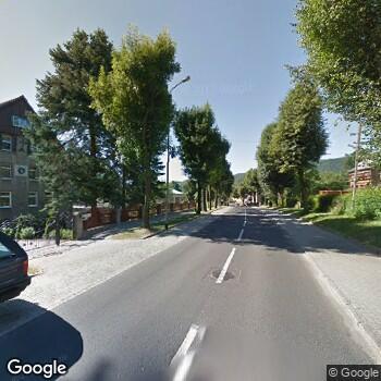 Widok z ulicy Uzdrowisko Szczawno - Jedlina
