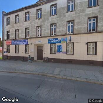 Widok z ulicy Centrum Rehabilitacji