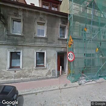 Widok z ulicy Bystrzyckie Centrum Zdrowia
