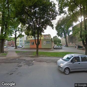 Widok z ulicy Zakład Lecznictwa Odwykowego dla Osób Uzależnionych Od Alkoholu w Czarnym Borze