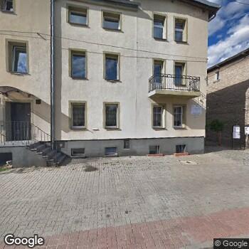 Widok z ulicy Prywatny Gabinet Stomatologiczny Wiesława Pawłowska