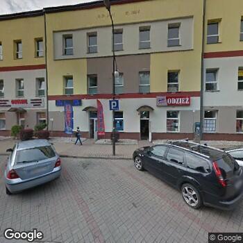 Widok z ulicy NZOZośrodek Rehabilitacji Euro-Med