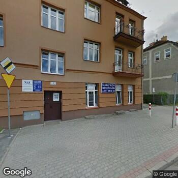Widok z ulicy ISPL Violetta Półtorak