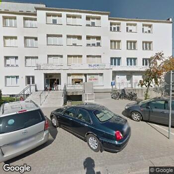Widok z ulicy NZOZ Poradnia Dermatologiczna Nelli L. Lebiedzińska
