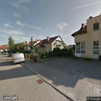 Widok z ulicy NZOZ Hospicjum Gdańskie im. Matki Teresy z Kalkuty
