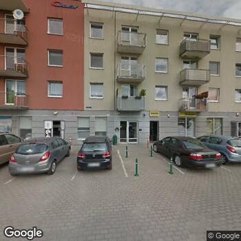 """Widok z ulicy NZOZ """"Nasz Dom"""""""
