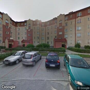 Widok z ulicy ISPL Bogdan Błaszczyk