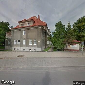 Widok z ulicy ISPL Barbara Szkudlarek