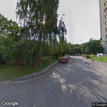 Widok z ulicy Szpital Specjalistyczny im.J.K.Łukowicza w Chojnicach