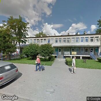 Widok z ulicy ISP Położnej Krystyna Pionka