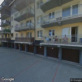 Widok z ulicy NZOZ Spec-Med