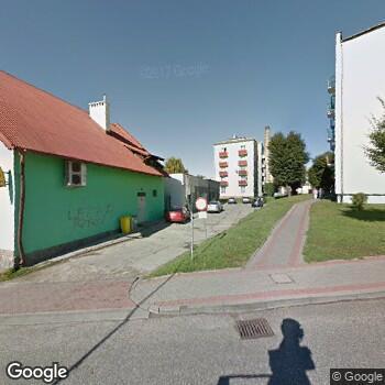 Widok z ulicy ISPL Jerzy Kazimierz Droszkowski