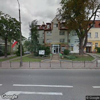 Widok z ulicy ISPL Jolanta Samborska