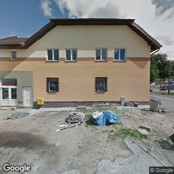 Widok z ulicy Maria Mackus Niepubliczny Zakład Opieki Długoterminowej