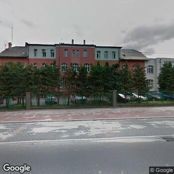 Widok z ulicy Centrum Dializ Fresenius