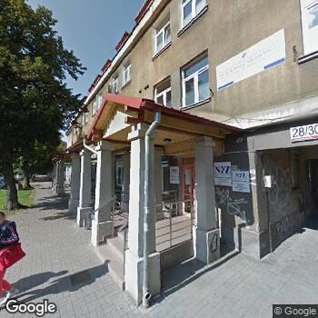 Widok z ulicy Przychodnia Mickiewicza