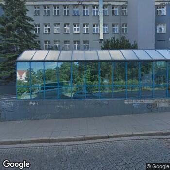 Widok z ulicy Szpital im. Mikołaja Kopernika