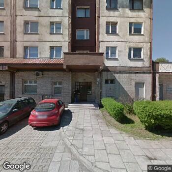 Widok z ulicy NZOZ-Okulista M.Szydło, K. Przybylska