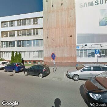 Widok z ulicy Centrum Medyczne Tommed Ośrodek Diagnostyki
