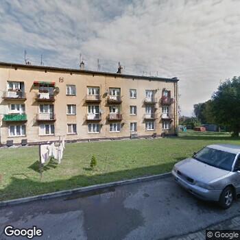 Widok z ulicy SPZOZ w Kazimierzy Wielkiej