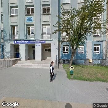 Widok z ulicy Wojewódzki Szpital Zespolony w Kielcach
