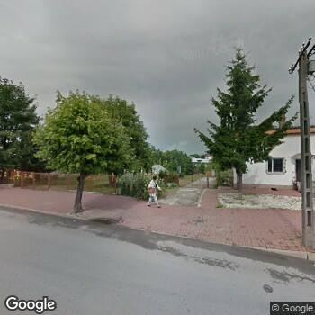 Widok z ulicy Szpital Powiatowy w Chmielniku