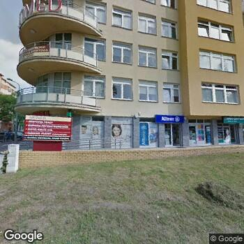 """Widok z ulicy """"Artimed"""" NZOZ w Kielcach"""