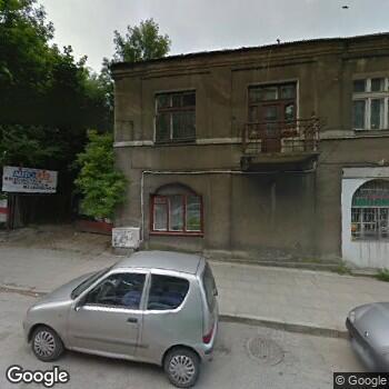 """Widok z ulicy NZOZ """"Centrum"""" w Kielcach"""