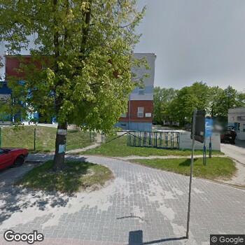 Widok z ulicy Szpital Specjalistyczny Artmedik