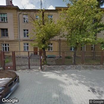 Widok z ulicy SPZOZ Ministerstwa Spraw Wewnętrznych w Kielcach
