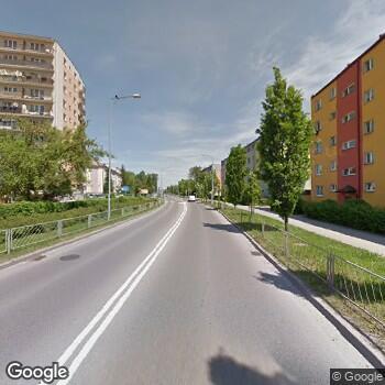 Widok z ulicy Prosta Lith