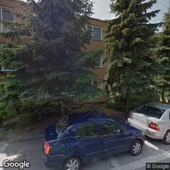 Widok z ulicy Affidea