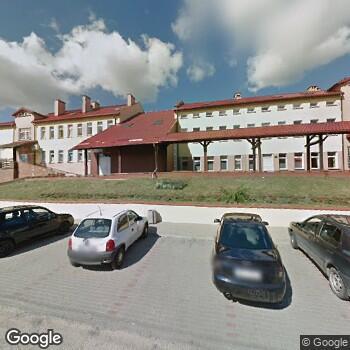 Widok z ulicy SPZOZ Szpital Powiatowy w Piszu