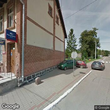 Widok z ulicy Gin-Med Emilia Rekuć