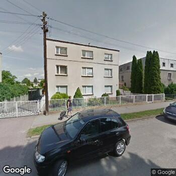 Widok z ulicy Stomatologia Wałkowscy
