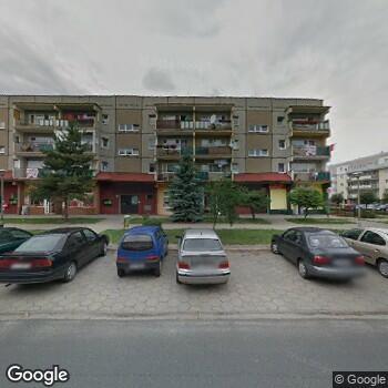 Widok z ulicy IPS Anna Hrapek-Szeflińska