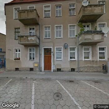 Widok z ulicy NZOZ Przychodnia Lekarska w Rydzynie