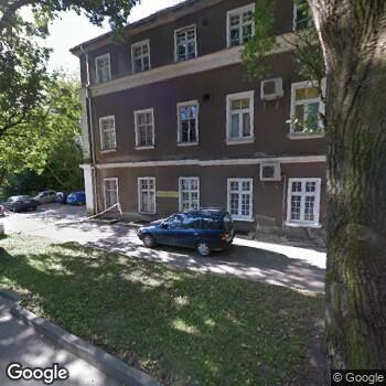 Widok z ulicy Samodzielny Publiczny Wojewódzki Szpital Zespolony